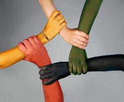red-yellow-black-white-green